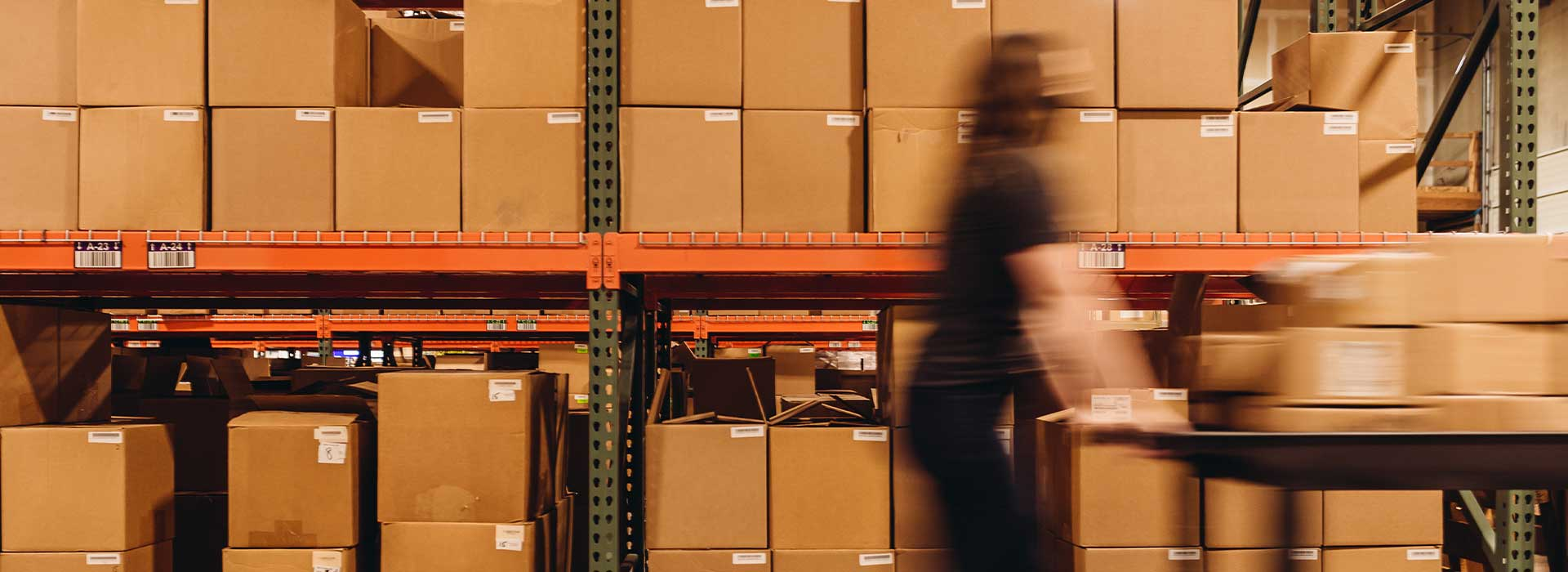 pushing_cart_through_warehouse_quickly
