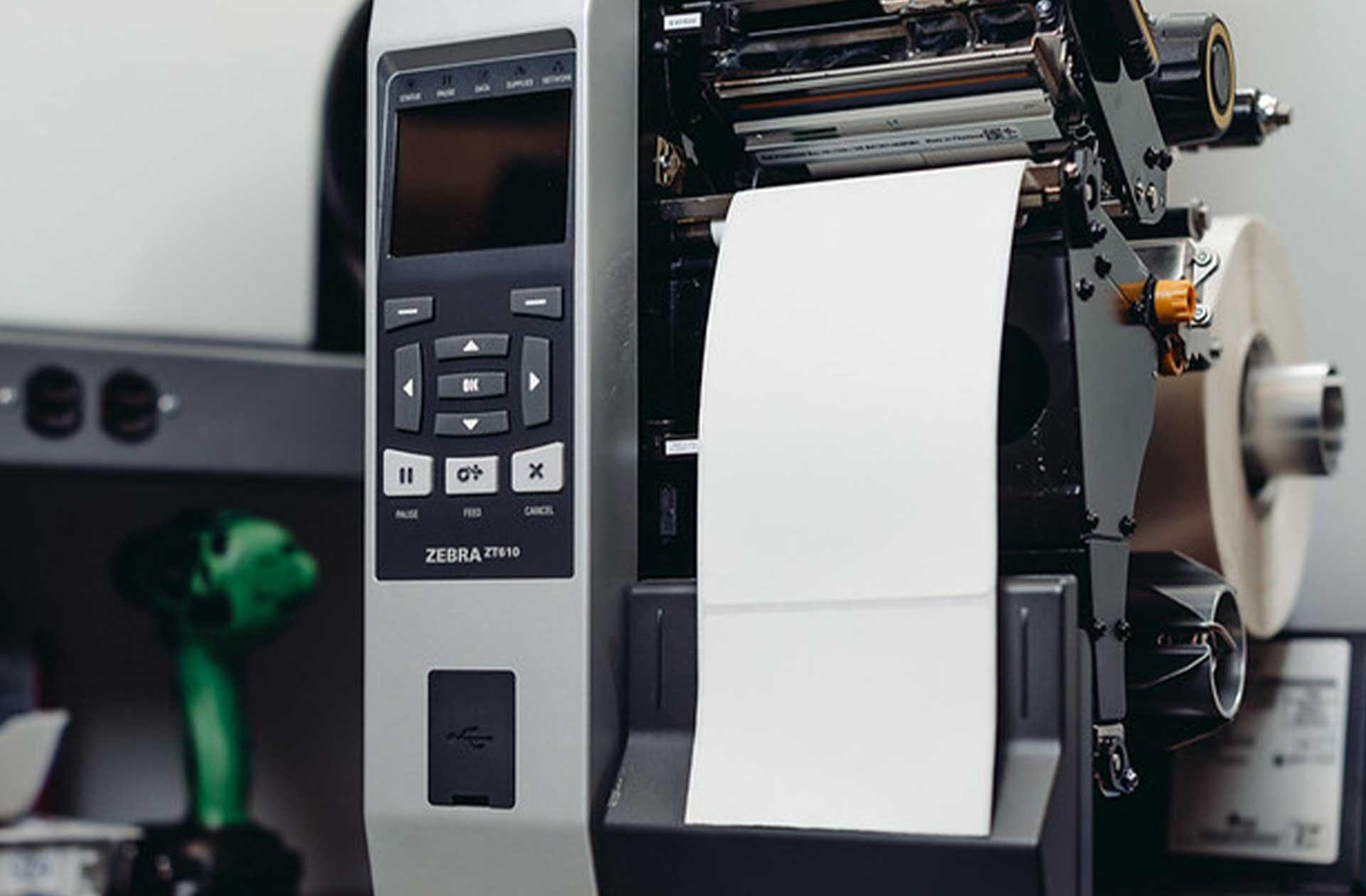 zebra_printer_being_serviced