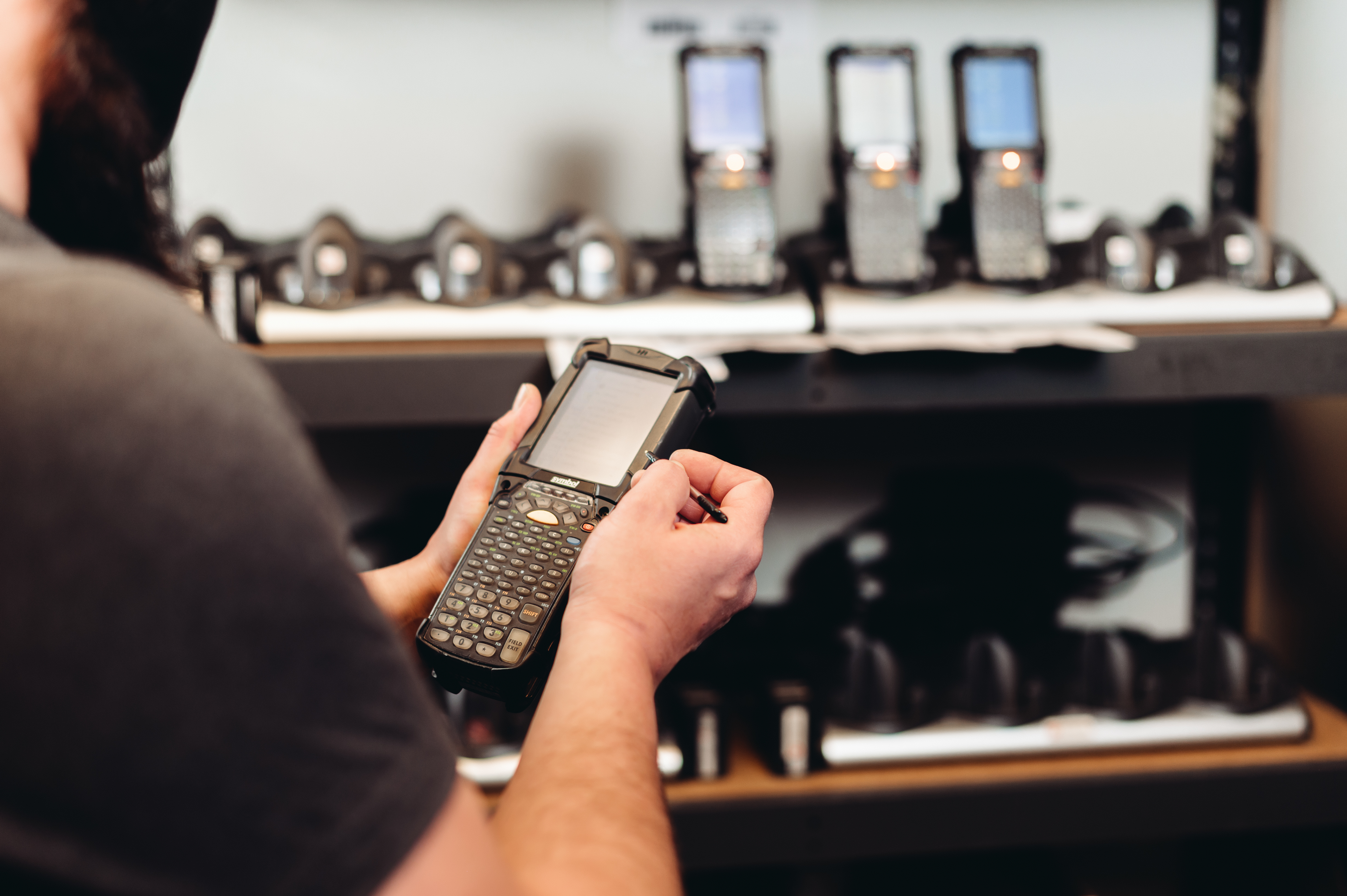 VMS-Barcoding-Mobile-Device-Management